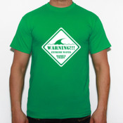 Warning!!! - Camiseta Fruit of The Loom  Valueweight